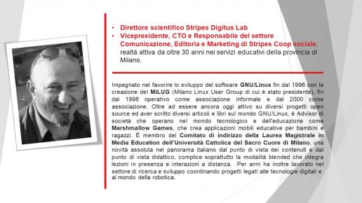 Igor Guida Direttore Scientifico dello Stripes Digitus Lab