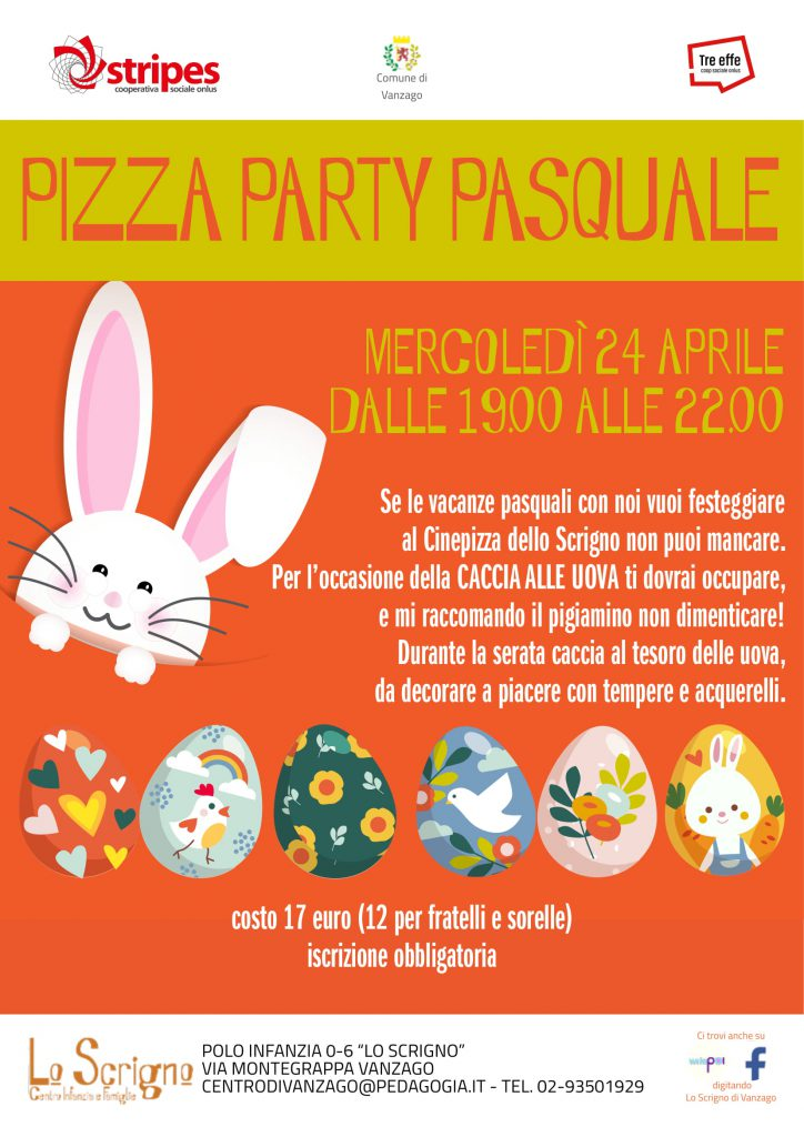 pizza party pasquale vanzago