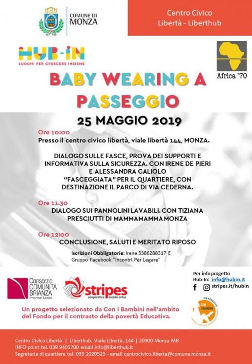 BabyWearing a passeggio Monza