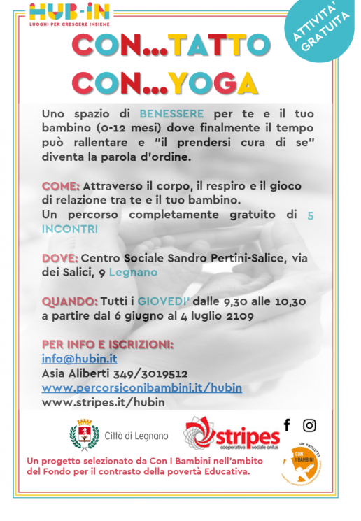 yoga con...tatto legnano
